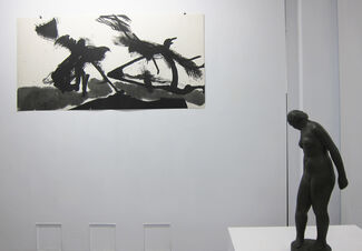 A Memorial Exhibition of Paintings by Chen, Hsing-Wan & Sculptors by Chen, Hsia-Yu, installation view