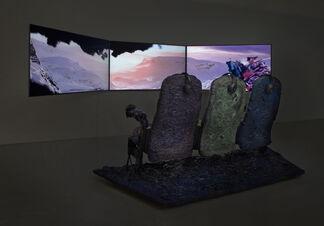 Jon Rafman / Stan Vanderbeek, installation view
