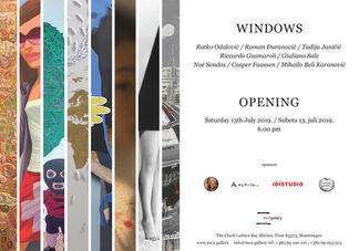 WINDOWS, installation view
