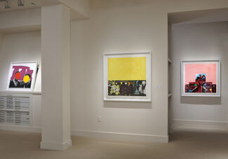 John Baldessari: Crowds & Recent Works, installation view