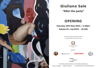 Giuliano Sale - After the party..., installation view