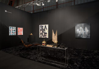 Edward Cella Art and Architecture at Art Los Angeles Contemporary 2018, installation view