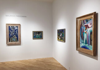 MAURICE FREEDMAN: Time and Place, installation view