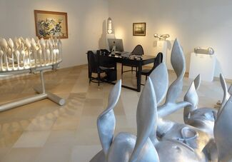 Bruno Gironcoli. Paintings & Sculptures, installation view