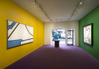 BERTRAND LAVIER - Walt Disney Productions, installation view