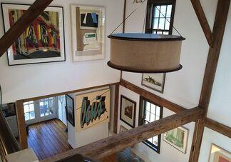 Robert Rauschenberg Originals & Prints, installation view