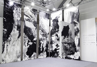 Ethan Cohen at Art Central 2015, installation view
