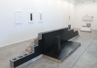Set to Topple and Equivalent Architecture, installation view