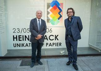 Heinz Mack - Unikate auf Papier, installation view