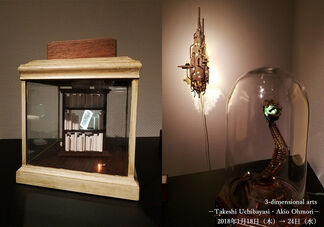 Three-dimensional arts – Takeshi Uchibayasi & Akio Ohmori –, installation view
