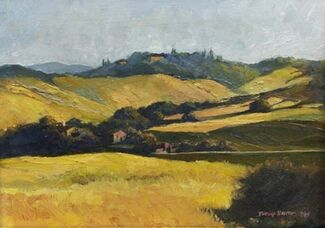 Oil Paintings of Italy and the Southwest by Douglas Smith, installation view