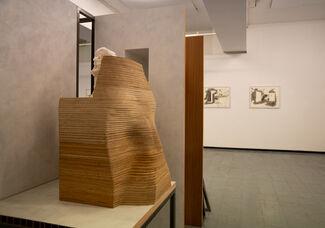 Os Espaços em Volta, installation view