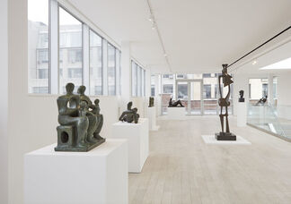 Henry Moore - Reflections, installation view