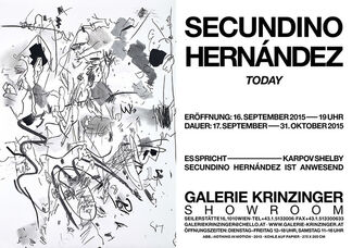 Secundino Hernández - Today, installation view