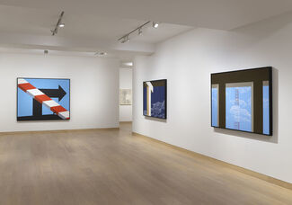 Allan D'Arcangelo: Pi in the Sky, installation view