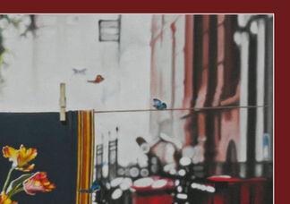 Art as Visual Sound Bites by Frank Björklund, installation view