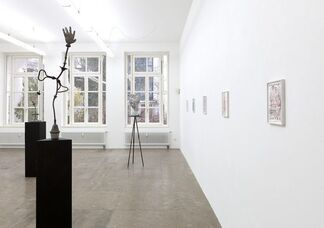 Alexi Tsioris - Flaum & Splitter, installation view