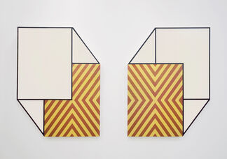 Paintings from the 1970's // Matthew King, installation view