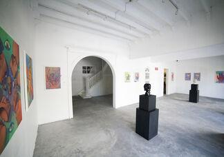 Fisuras de la Materia, installation view