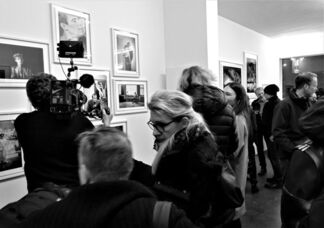 Roland Hagenberg, Basquiat in his Studio, installation view