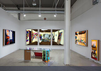 Cherry and Martin at Art Basel 2014, installation view