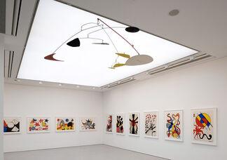 Calder on Paper: 1960-1976, installation view