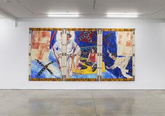 Emma Amos: Falling Figures, installation view