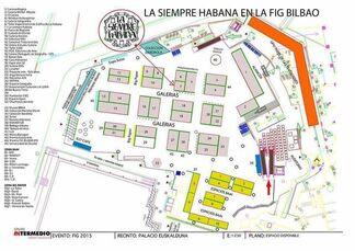 La Siempre Habana at FIG Bilbao 2015, installation view