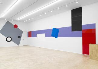 Gerwald Rockenschaub, installation view
