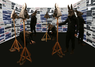 Barbara Seiler at Frieze London 2014, installation view
