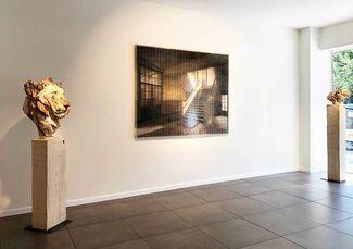 Showcase with Martijn Hesseling, Jürgen Lingl-Rebetez and Zhuang Hong Yi, installation view