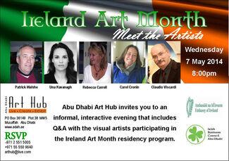 Ireland Art Month, installation view