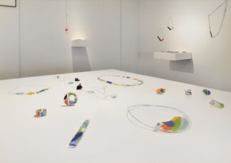 "vol.69 Kazuko Mitsushima ""the glass jewelry and art"", installation view"