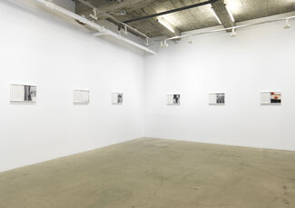 John Divola: The Green of This Notebook, installation view