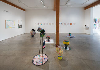 Claire Cowie: In the Vacuum, Outside the Atmosphere, installation view