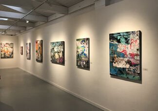 Claudia Marseille: Urban Markings, installation view