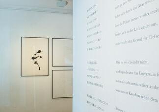 Skelette der Stimmen, installation view