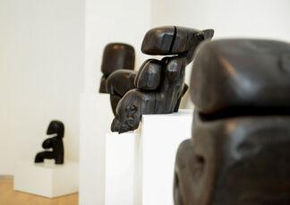 Wang Keping: Wood Flesh Form Nothingness, installation view