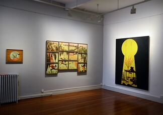 Stephen Chambers  - The Gangs Of New York, installation view