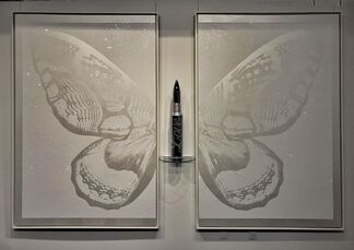 Bullets, Butterflies & Hearts by Rubem Robierb, installation view