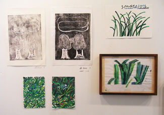 Grass and Stone, installation view