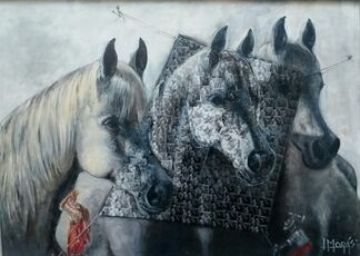 EQUESTRIAL ART, installation view