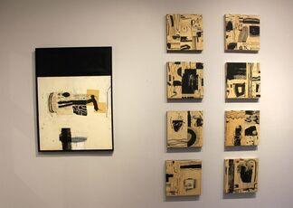 Collage - Dennis Parlante, installation view