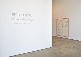 Rebecca Horn: The Vertebrae Oracle, installation view