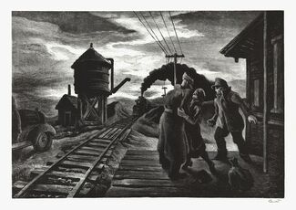 Morning Train.  [Soldier's Farewell.]