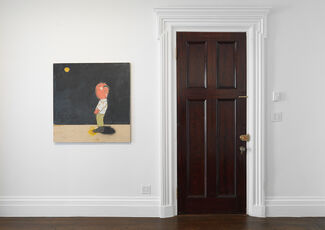 Kirk Hayes - Old Artist Pissing At The Moon, installation view