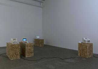 Robert Bordo, Sam Anderson with Michel Auder, installation view
