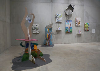 The Dream of the Grand Tree and the Improbable Objects, installation view