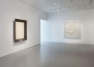 Echoes: Artschwager, Chamberlain, Twombly, Varejão, Wall, Weatherford, installation view