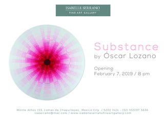 Substance by Óscar Lozano, installation view